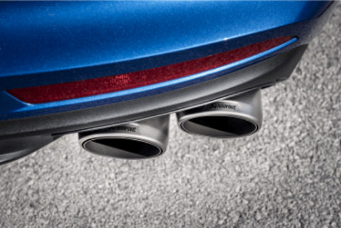 Akrapovic 17-18 Porsche Panamera Turbo Tail Pipe Set (Titanium)