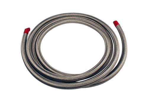 Aeromotive SS Braided Fuel Hose - AN-10 x 12ft