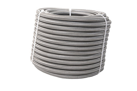 Aeromotive PTFE SS Braided Fuel Hose - AN-08 x 8ft