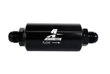 Aeromotive In-Line Filter - (AN-10) 100 Micron Stainless Steel Element Black Anodize Finish
