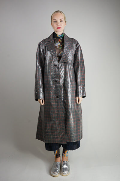 Rope Long Coat Oliv Damen Henrik Vibskov