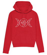 Load image into Gallery viewer, Modern Goddess Hoodie - Pink / Red