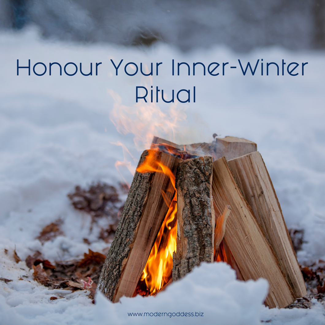 Honour Your Inner-Winter Ritual - Audio + Workbook