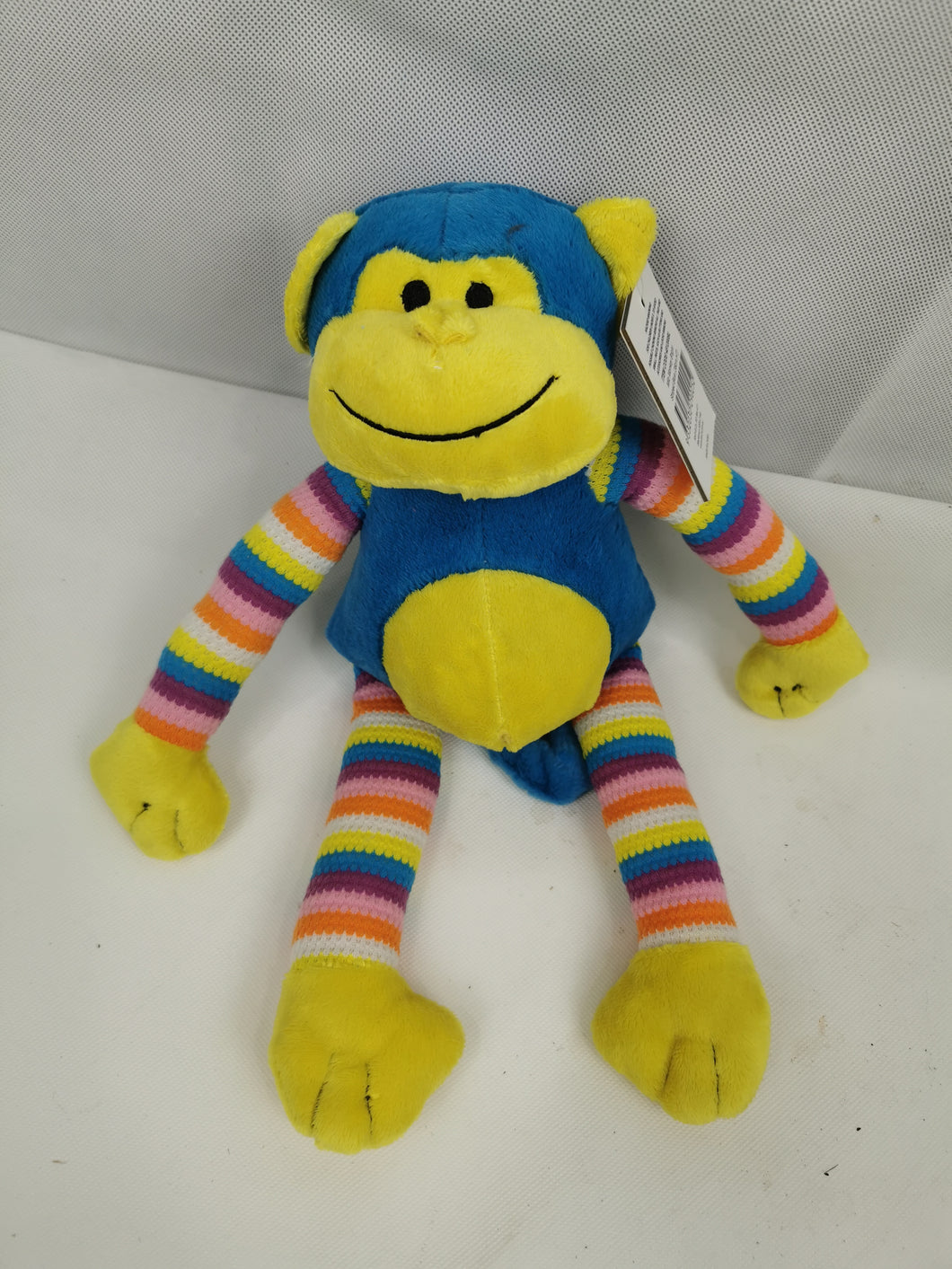 Monkey Stripped Blue (38cm)