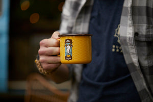 Wm. Goat Coffee Emalco Mug
