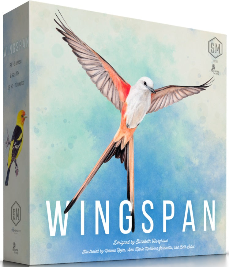 Wingspan + swift start