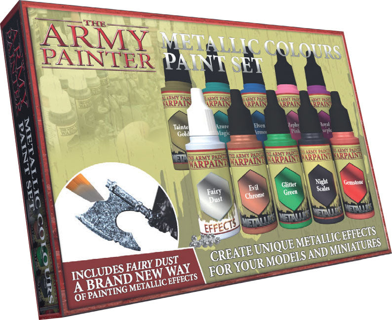 Metallic Colours Paint Set