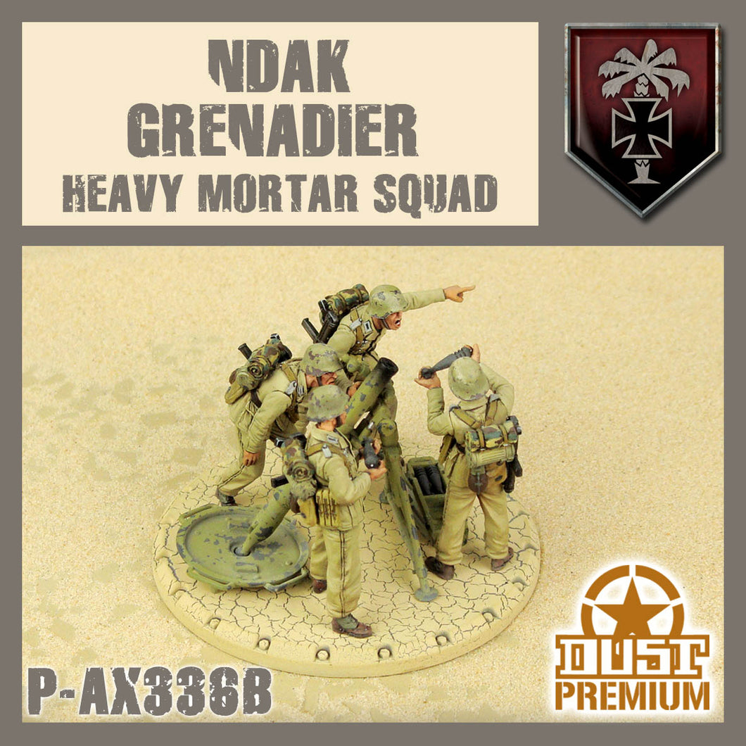 NDAK Grenadier Heavy Mortar Squ
