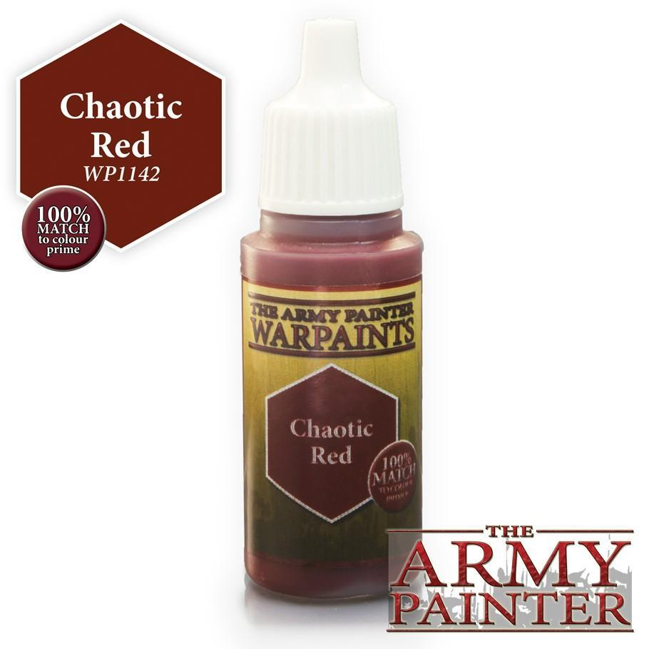 Warpaints: Chaotic Red 18ml