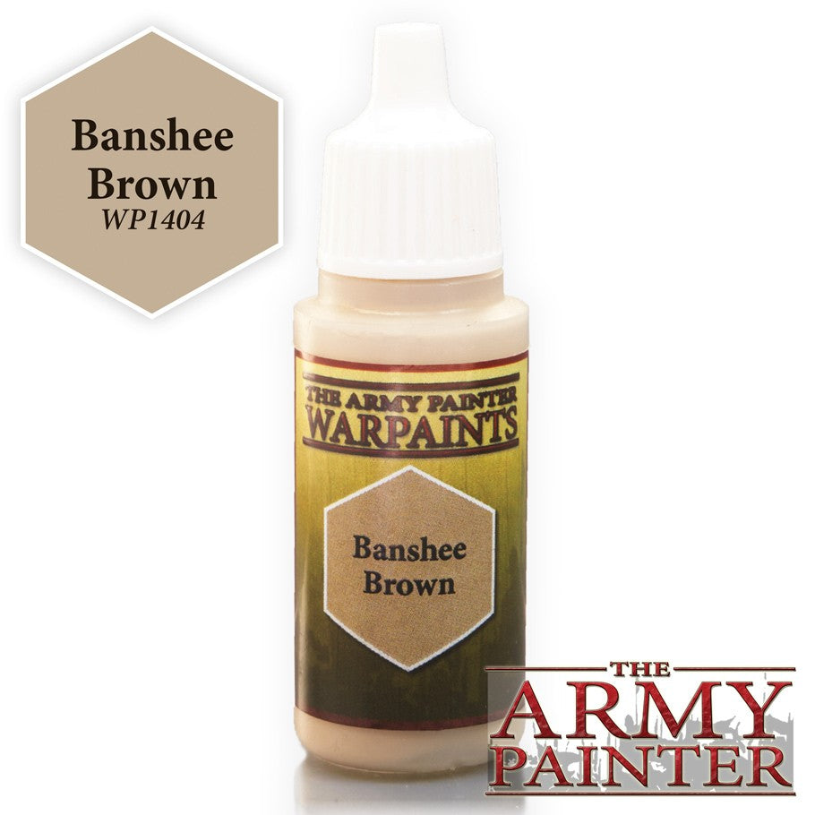 Warpaints: Banshee Brown 18ml
