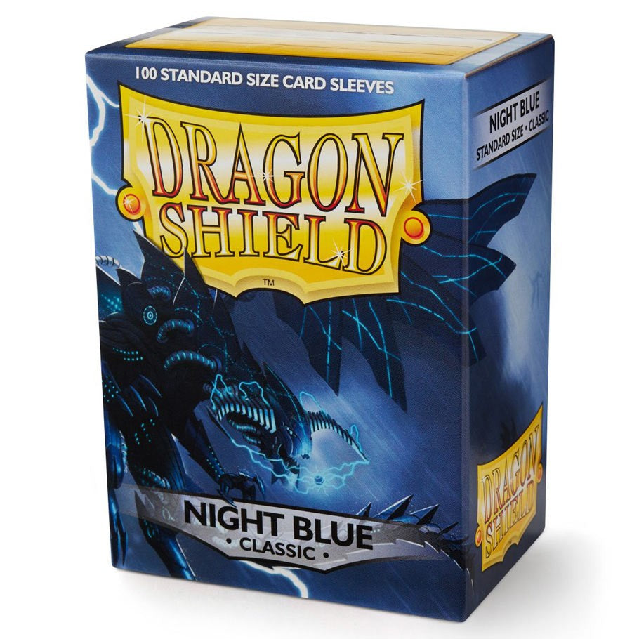 Dragon Shields (100) N Blue