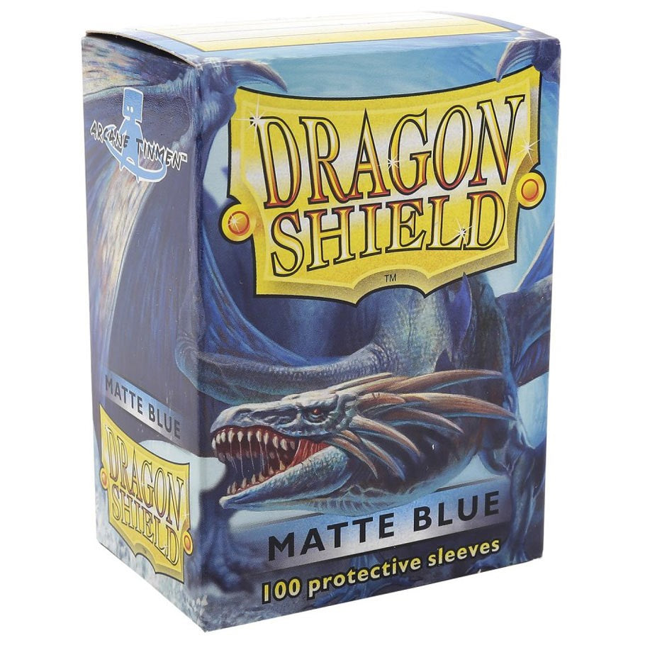 Dragon Shields (100) Blue Matt
