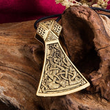 My Shape Slavic Thor Hammer Viking Axe Perun Pendant Necklaces Viking Amulet Men and Women Jewelry