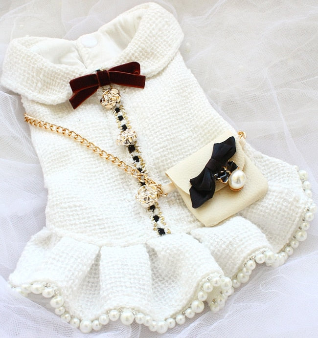 Handmade Luxurious Dog Clothes Vintage