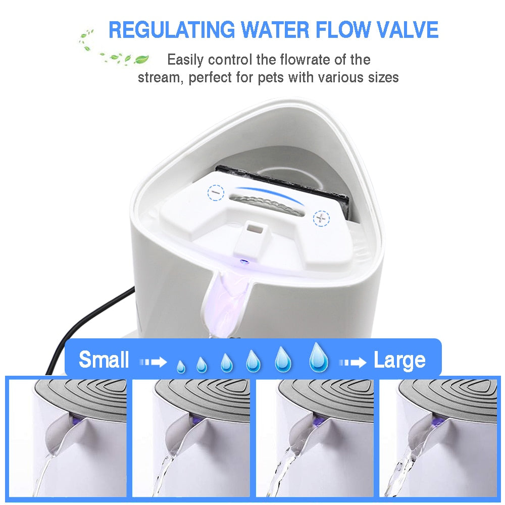 Water fountain pet water dispenser