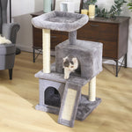 Load image into Gallery viewer, Fast Domestic Delivery Pet Cat Tree Tower Condo House Scratcher Post Toy for Cat Kitten Cat Jumping Toy with Ladder Playing Tree
