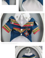 Load image into Gallery viewer, Handsome Officer Two Piece Suit With Shirt Badge Dog Dress