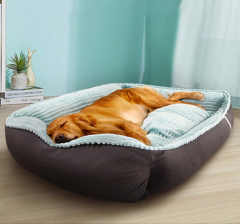HOOPET Pet Dog Bed Winter Warm Soft Big Dog Bed