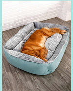 Load image into Gallery viewer, HOOPET Pet Dog Bed Winter Warm Soft Big Dog Bed
