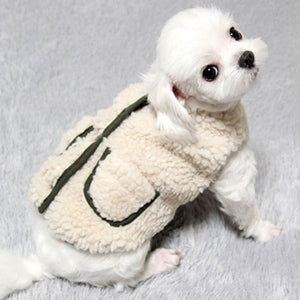 Pet Christmas Coat Cotton Winter Vest Dress