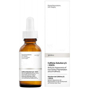 Ordinary Caffeine Solution 5% + EGCG for  Reduces Eye Puffiness and Dark Circles
