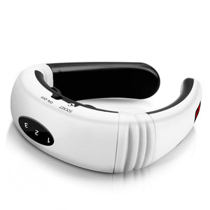 Electric Neck Massager &  Infrared Heating Pain Relief  Relaxation Machine