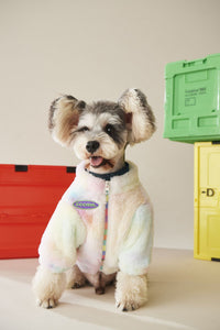 Winter Thickening Warm Plush Dog Clothing Coat