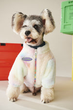 Load image into Gallery viewer, Winter Thickening Warm Plush Dog Clothing Coat