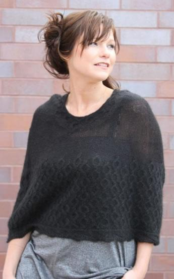 Little Black Caplet Pattern