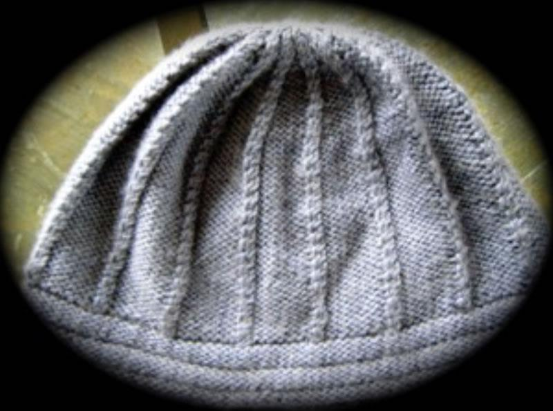 Mock Cable Hat Pattern