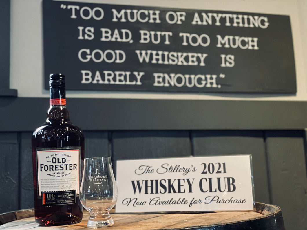 Whiskey Club 2021 Membership Package