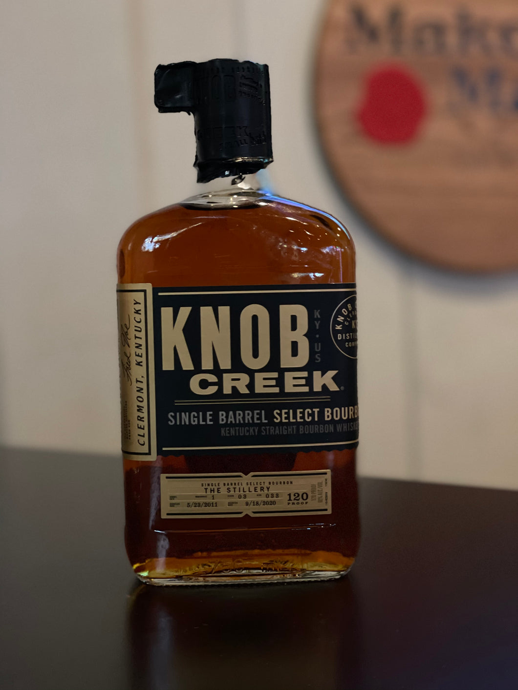 Knob Creek Barrel Pick Bottle (purchase & pick up only)
