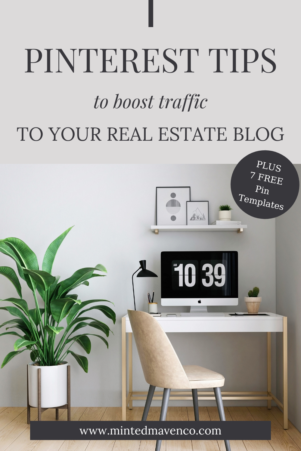 Pinterest tips to boost traffic to your real estate blog