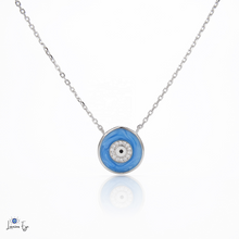 "Load image into Gallery viewer, <img src=""necklace.png"" alt=""evil eye necklace 925 sterling silver"">"
