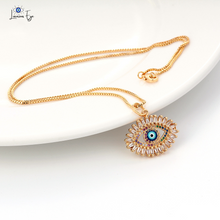 "Load image into Gallery viewer, <img src=""necklace.png"" alt=""evil eye necklace 18k gold zircon crystal rainbow"">"