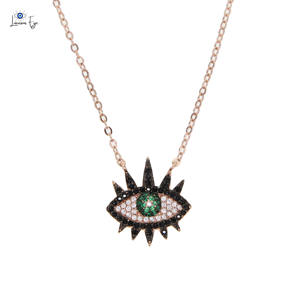 "<img src=""necklace.png"" alt=""evil eye necklace 18k gold plated cubic zirconia zircon 925 sterling silver"">"