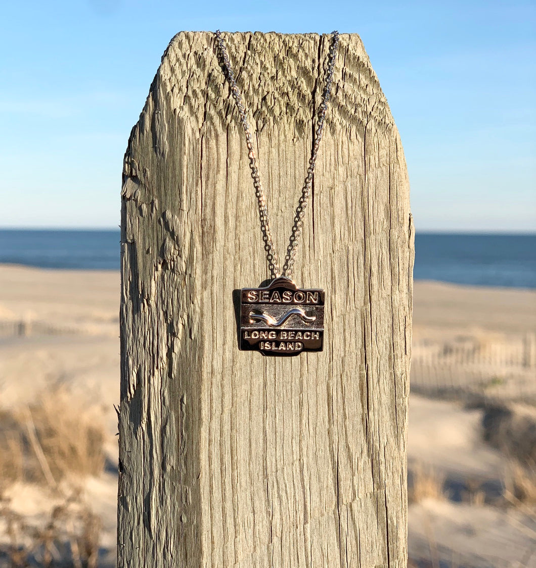 Beach Badge Necklace