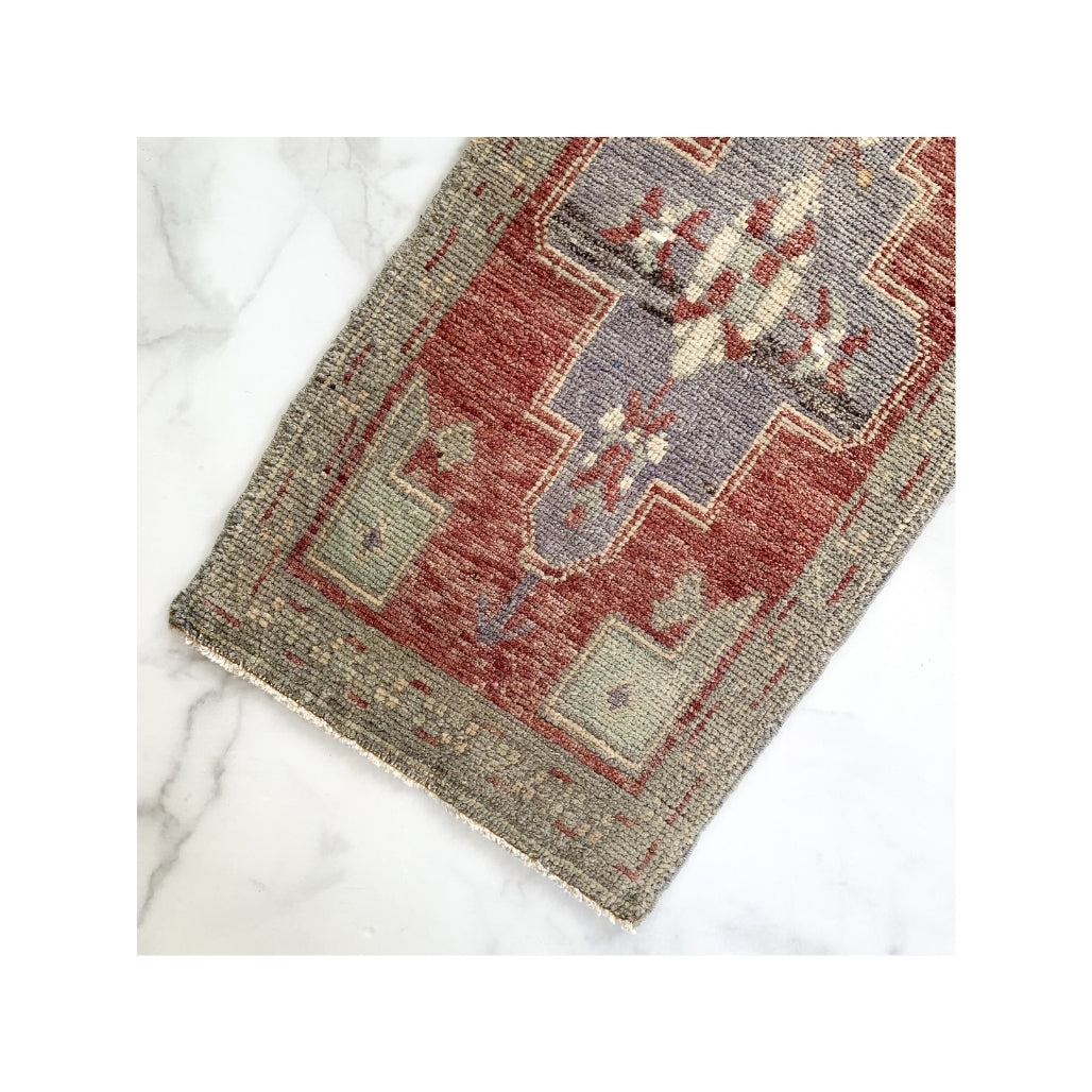 Vintage Turkish Mini Rug - Devyn
