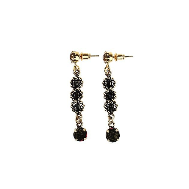 Etro accessories Chain Earring With Flower