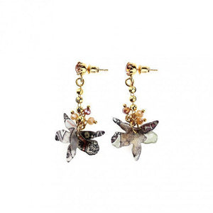 Etro accessories Litte Chain Earring With Orchid