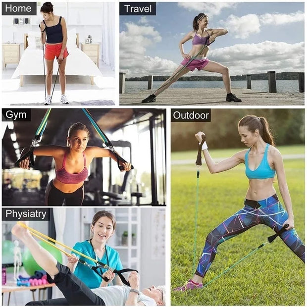 Fitness elastic bands