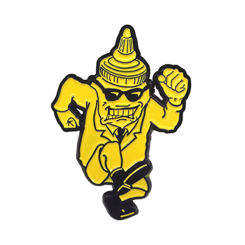 (MPS001) Mustard Man Enamel Pin