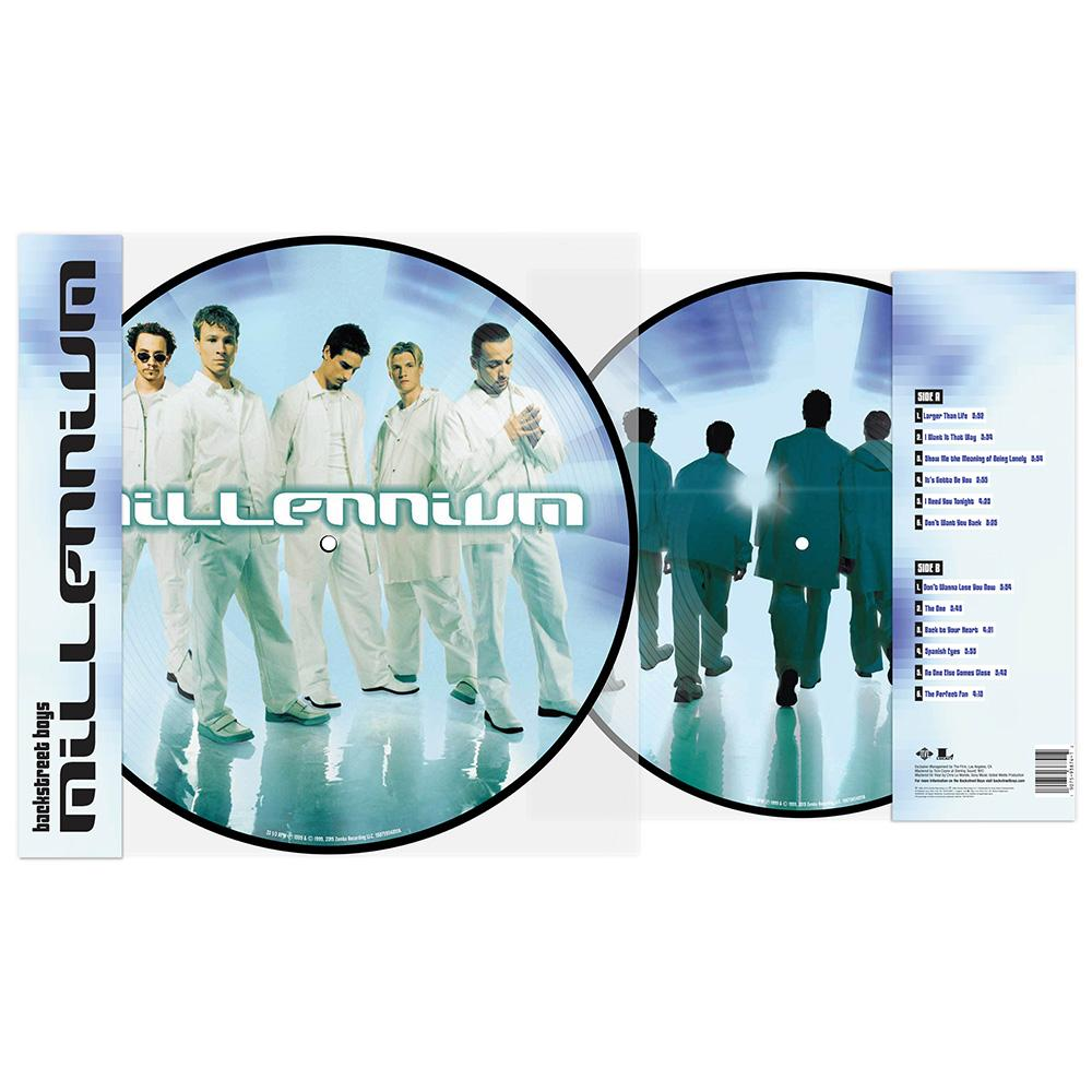 BACKSTREET BOYS - MILLENNIUM (PICTURE VINYL)