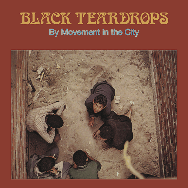 MOVEMENT IN THE CITY - Black Teardrops (1981) (LP Vinyl)