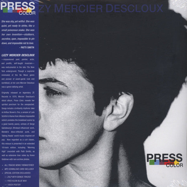 Lizzy Mercier Descloux - Press Color (2LP) nm