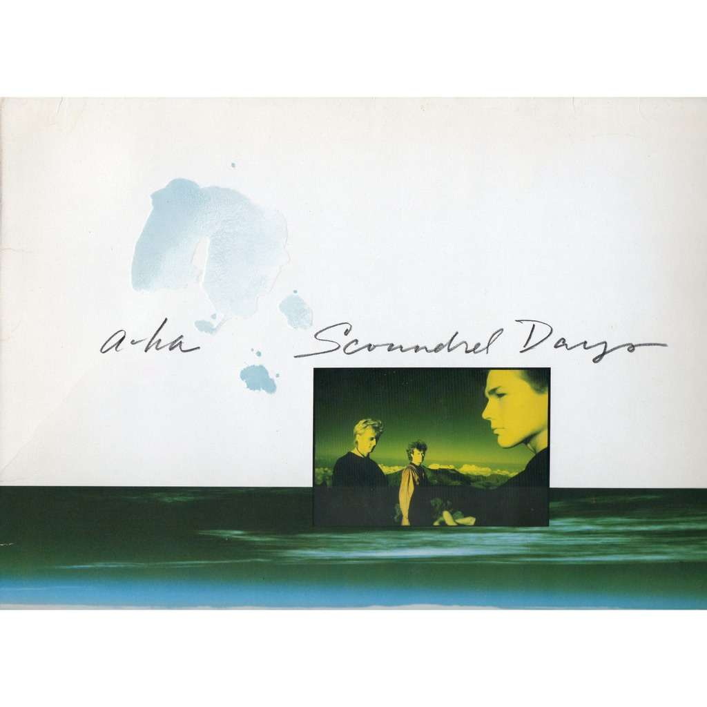 A-HA - SCOUNDREL DAYS (LP)
