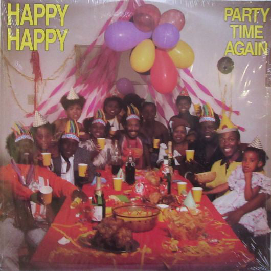 Happy Happy - Party Time Again (LP)