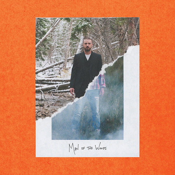 JUSTIN TIMBERLAKE - MAN OF THE WOODS (LP)