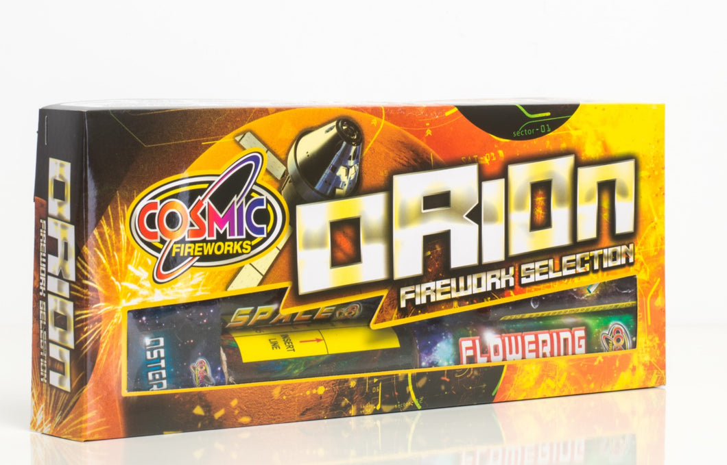 Cosmic Orion Selection box - 12 Fireworks