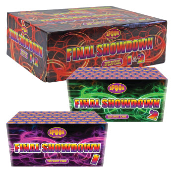 Spook Final Showdown Twin Pack -150 shots per cake